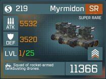 Myrmidon SR Lv1 Front