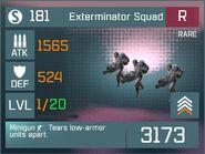 Exterminator Squad R Lv1 Front