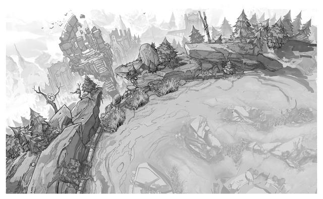 Summoner's Rift Update Environment Vista