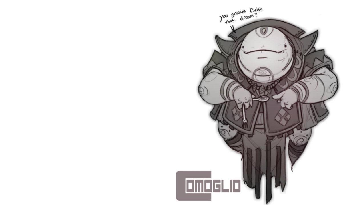 Emptylord Dreameater by Comoglio