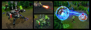 Urgot Battlecast Screenshots