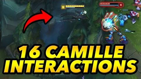 16 Crazy Camille Gameplay Interactions! (League of Legends LoL)