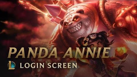 Panda Annie - Login Screen