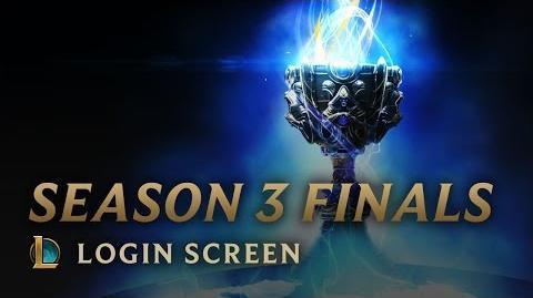 Season 3 Finals - Login Screen