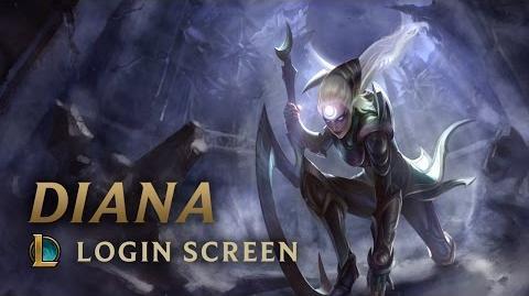 Diana, Scorn of the Moon - Login Screen