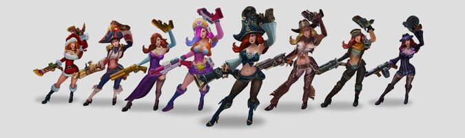 Miss Fortune VU models