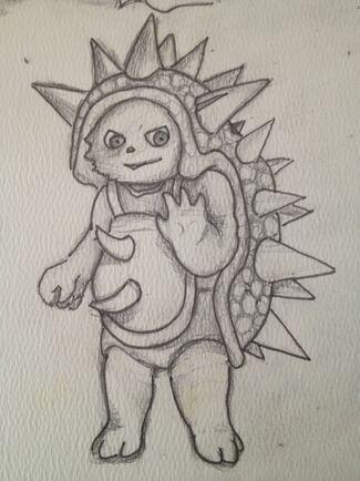 Emptylord Rammus Sketch