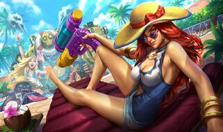 Miss Fortune PoolPartySkin