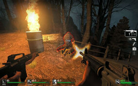 Left 4 dead hunter attack 01