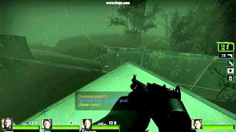 Left 4 Dead 2 - Hard Rain Finale, Back to Safe Room Method
