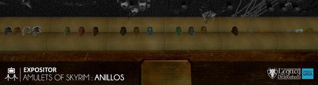 Amulets of Skyrim - Anillos