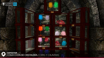 Colección de Cristaleria - Copas y Calaveras