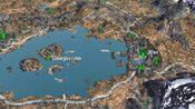 Goldenglow estate on map