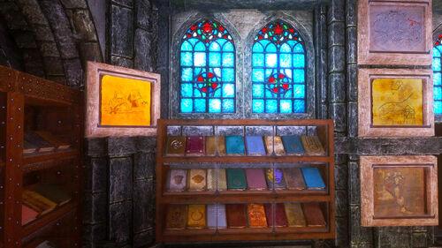 4th Books Display