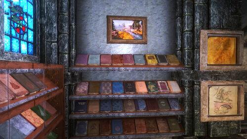6th Books Display