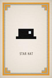 Star Hat Card