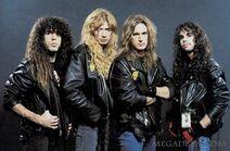 Megadeth+lineup gray