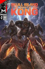 Skull Island - The Birth of Kong issue 2 cover