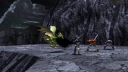 Beastie Dragon uses Black Mist