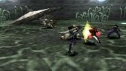 Dragon Soldier uses Destructive Cut