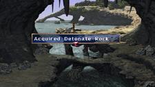 Detonate Rock Chest Limestone Cave