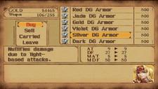 Silver Dragon Armor in Store