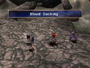 Killer bird uses Blood Sucking on Rose