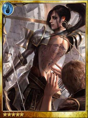 Tattooed Warrior Tonya