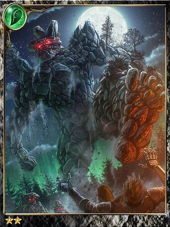 (Scrap) Stone Golem, From the Ashes