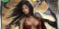 (Shouldering) Emelia, War Maiden