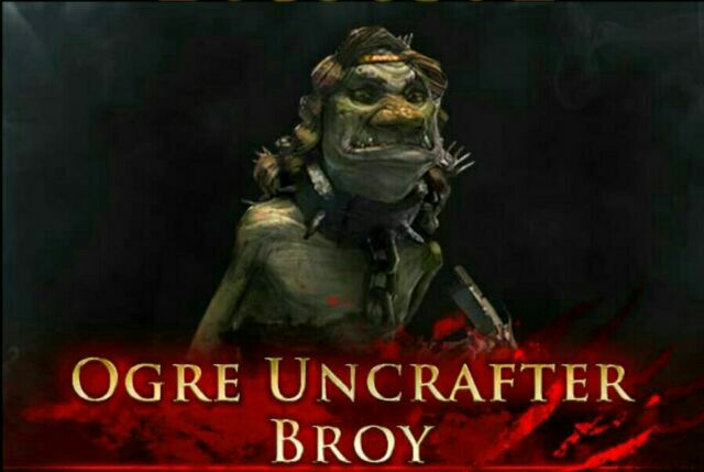 End Boss Ogre Uncrafter Broy