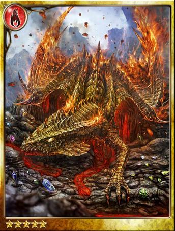 Volcano-born Flare Dragon