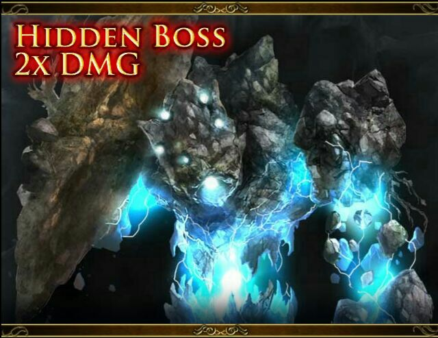 Hidden Boss Dan'troi, Thunder Golem