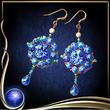 Blue Butterfly Earrings EX