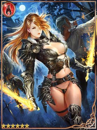 (Determination) Fiery Femme Kuschra