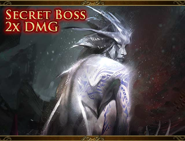 Secret Boss Cave Goddess Schilt