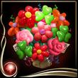 Red Balloon Bouquet EX