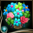 Turquoise Balloon Bouquet EX