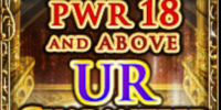 18-PWR & Up UR Ticket
