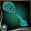 Turquoise Ice Key EX