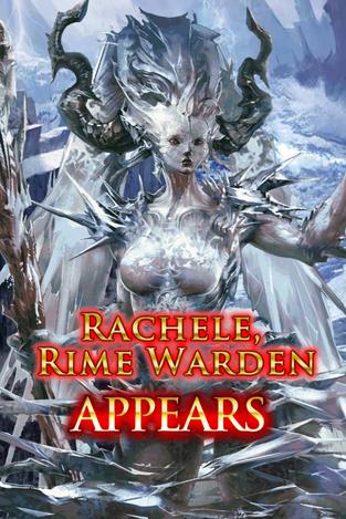 Rachele, Rime Warden Appears