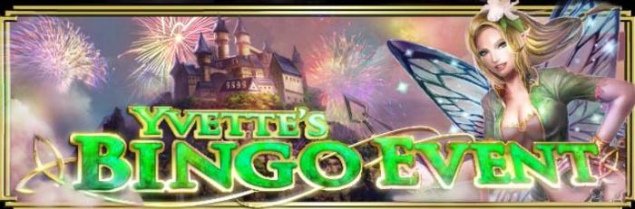 Yvette's Bingo Event