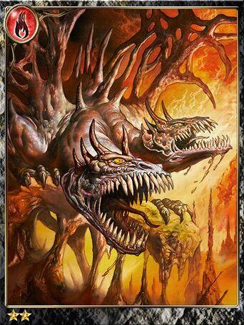 (Fangs) Growling Hades Dragon