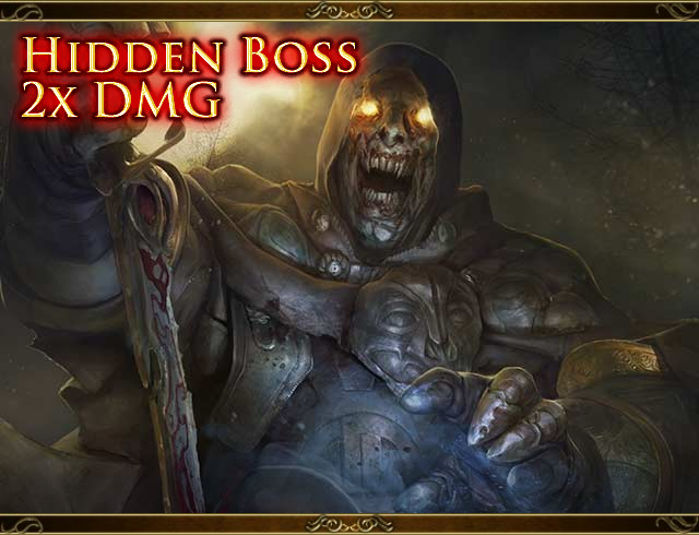 Hidden Boss (Decap) Headhunting Devil Folsius