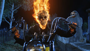 Ghost rider arrives