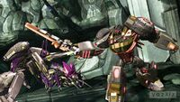 Grimlock attack insecticons