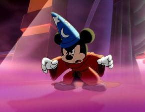 Mickey ready