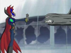Myotismon block missiles super