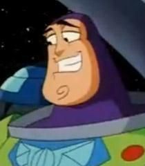 Buzz happy grin