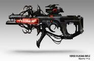 Viper plasma rifle concept by llyannart-d647yiy